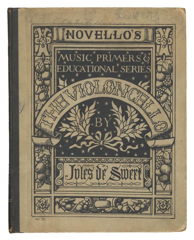 Cello method Jules de Swert